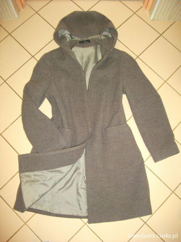 Odzież wierzchnia Bhs wełna włoski płaszczyk kaszmirowy 44 46