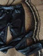 legginsy szeroki pas woskowane cudo 36 s
