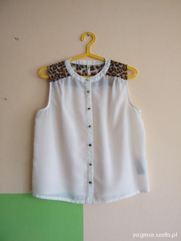 Koszula z elementem pantery