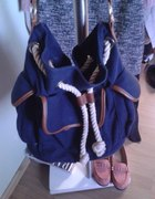 Marynarska torebka h&m