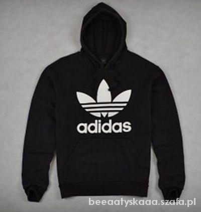 Adidas oldschool czarna kangurka M w Bluzy Szafa.pl