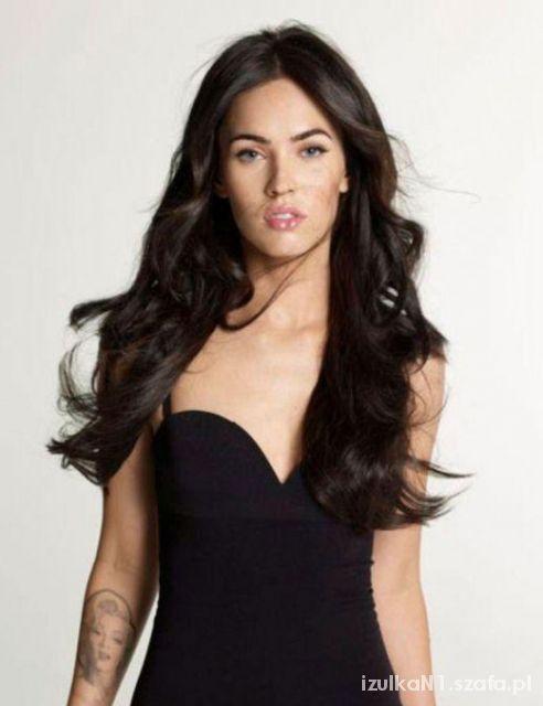 Długie Czarne Włosy W Fryzury Szafapl
