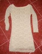 koronkowa sukienka r 34