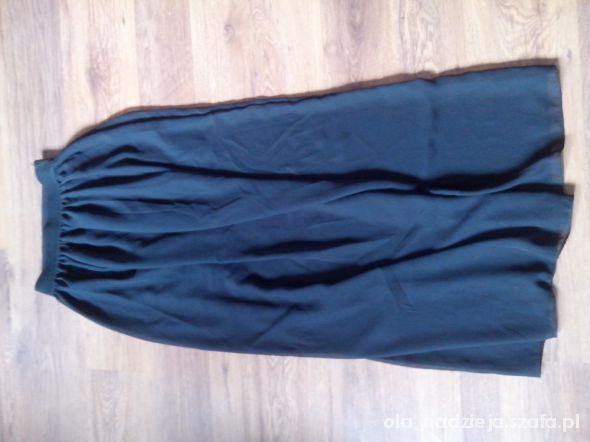 Spódnice spódnica maxi czarna dla k isia