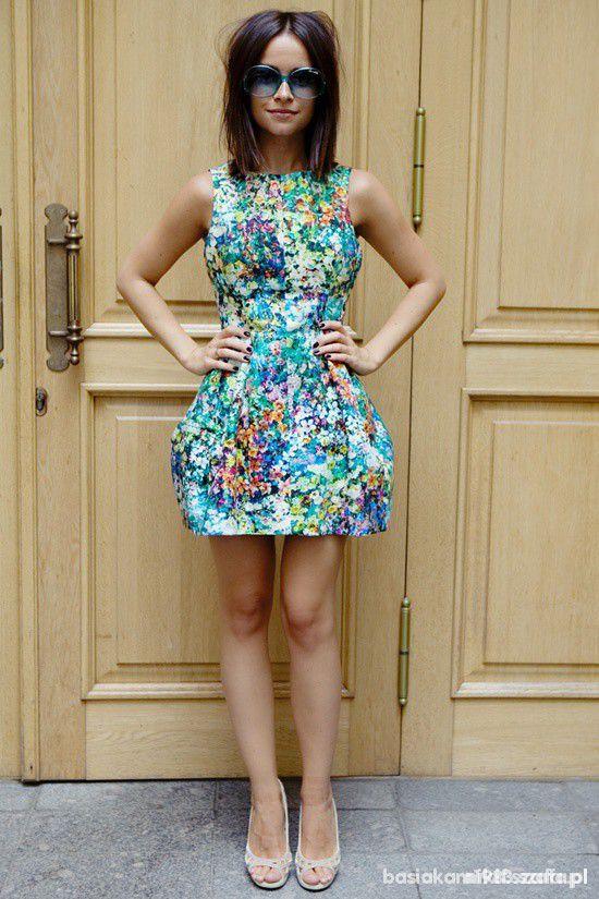 Kwiatowa sukienka ZARA