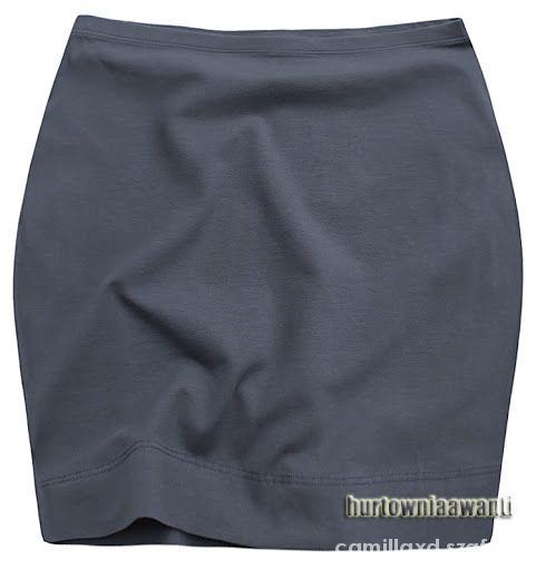 Szara klasyczna spódniczla M