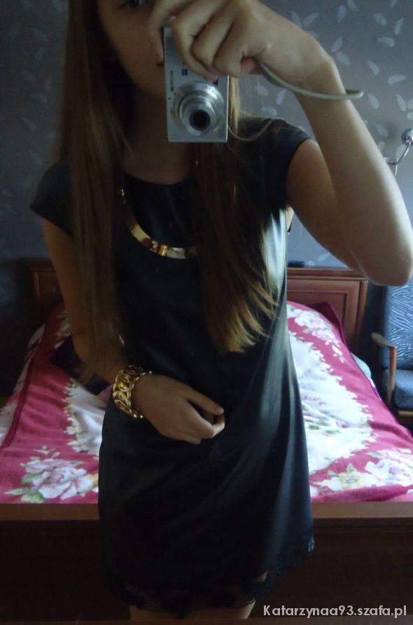 Eleganckie Sukienka czarna