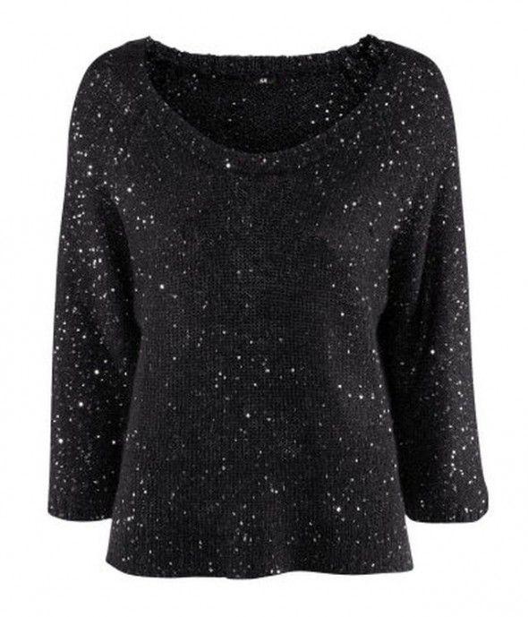 H&M sweter cekiny