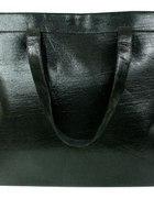 ZARA shopper bag nowy czarny