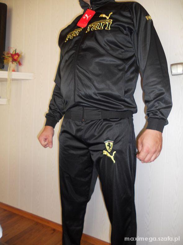 spodnie dresowe męskie puma ferrari
