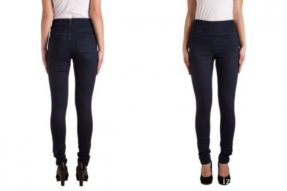 Spodnie Pieces Funky Highwaist