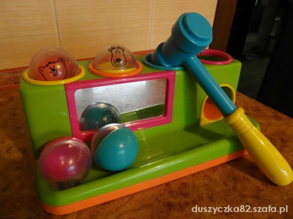 Zabawki przebijanka wbijanka