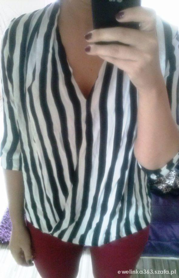 Eleganckie koszula w paski