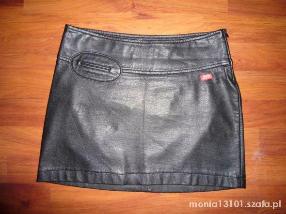 Spódnice Skórzana spódniczka mini MISS SIXTY