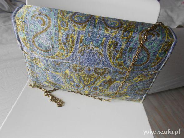 Atłasowa torba handmade...