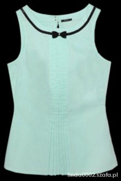Miętowa pastelowa bluzka Mohito