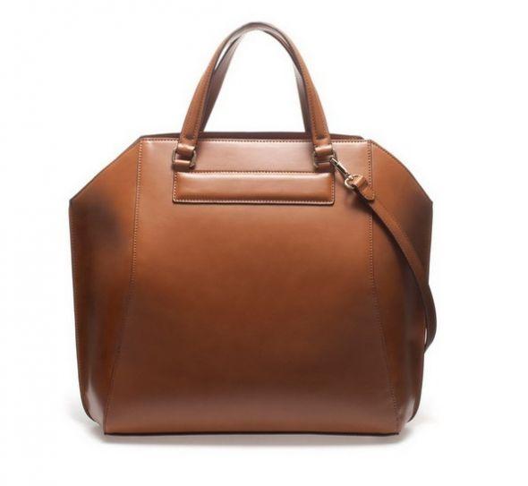 Torebka ZARA LUKSUSOWY Shopper Bag CAMEL