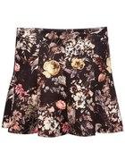 Spódniczka retro kwiaty...