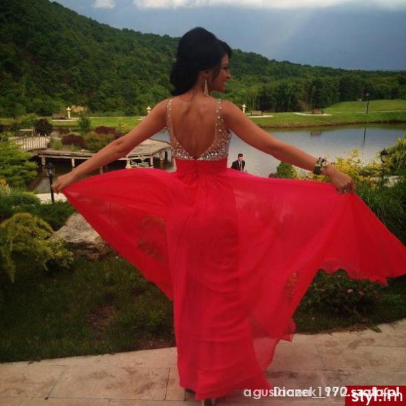 Eleganckie super sukienka