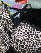 Czarna panterka tygryska koszulka Ann Summers 38