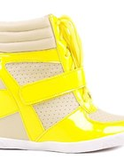 Melody Yellow Sneakers