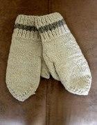 Rękawiczki jednopalczaste z wełny owczej