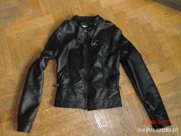 Skórzana kurtka małe M