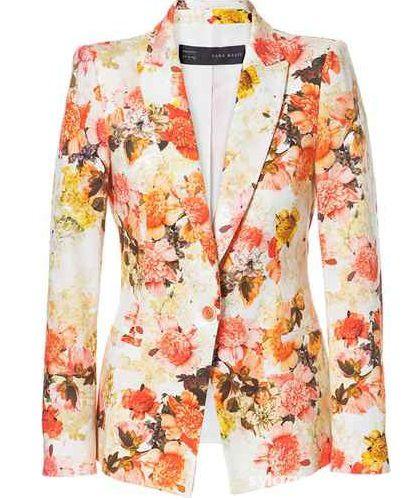 Marynarka Floral Zara...