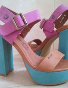 Kolorowe buty BIG STAR...