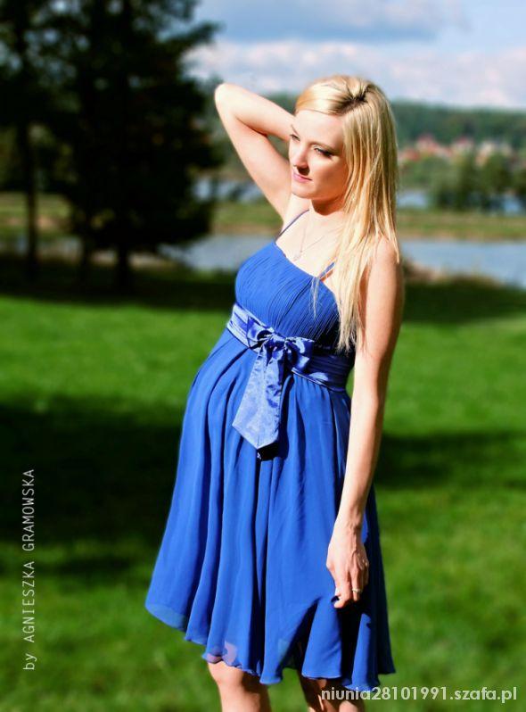 Na specjalne okazje Chabrowa zwiewna sukieneczka