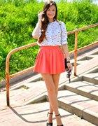 Coral skirt