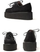 Czarne creepers creepersy boots