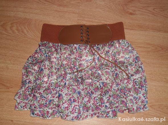 Spódnice mini falbany