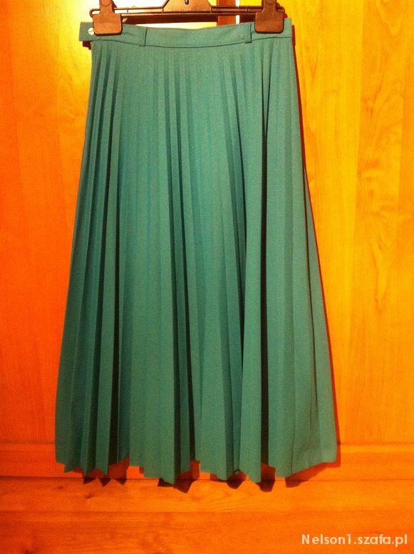 Spódnice Plisowana retro