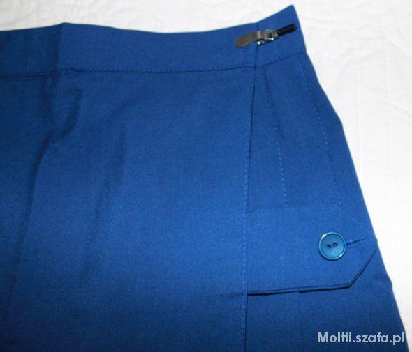Spódnice plisowana zakładana mini spódniczka S