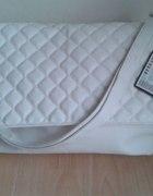Torebka new yorker biała pikowana kopertówka