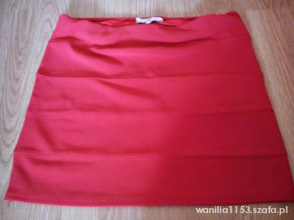 Spódnice NEW LOOK Super spódniczka czerwona