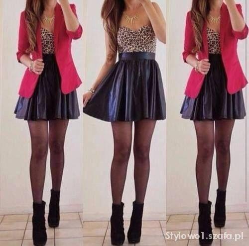 Eleganckie modna stylizacja