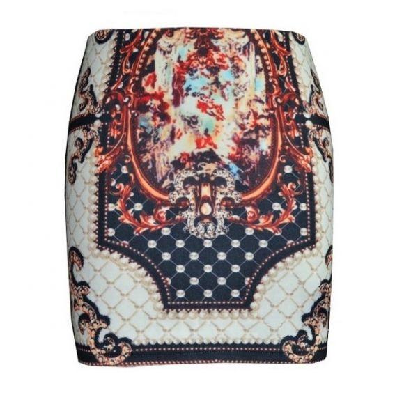 Spódnice Barokowa spodniczka mini r S