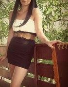 sukienka black&white...
