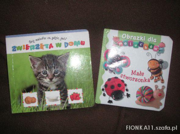 Zabawki książeczki o zwierzakach
