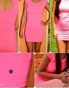 Sukienka cropp neon