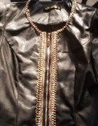 skórka złote łańcuszki białe perełki...