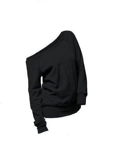 Ubrania bluza na jedno ramię