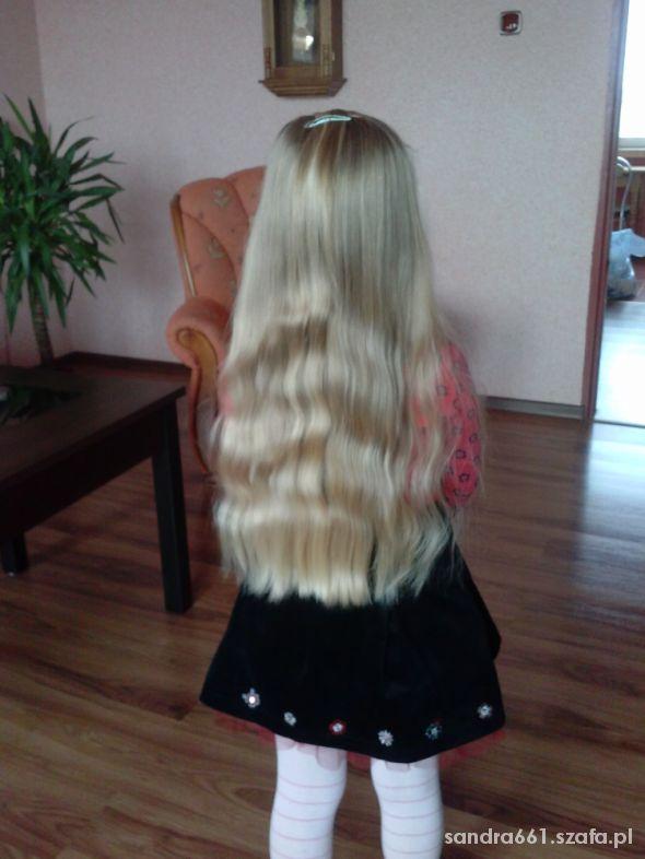 Piękne blond włosy
