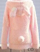 Japan Style bluza uszy królik uszkami