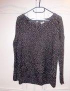 Szary sweter oversize Vero moda