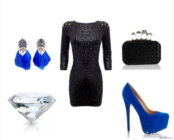 Imprezowe Elegancka sylwestrowa stylizacja