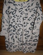 sweter oversize w panterkę