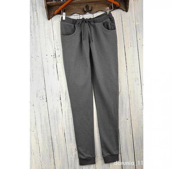 Nowe spodnie dresowe szare rurki M C&A